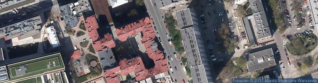 Zdjęcie satelitarne Fabryka Wyobraźni