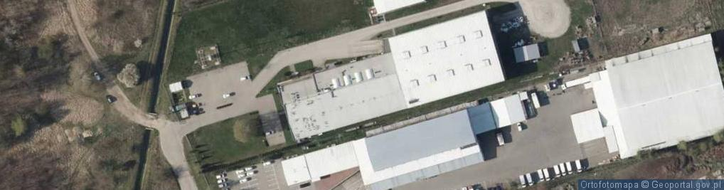 Zdjęcie satelitarne Fellowes Polska S.A.