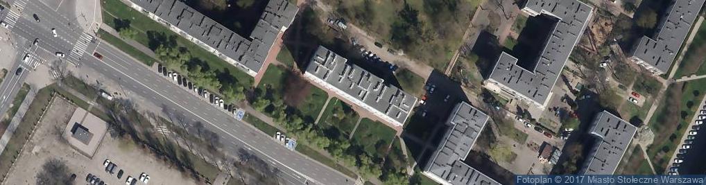 Zdjęcie satelitarne Firma Gawron
