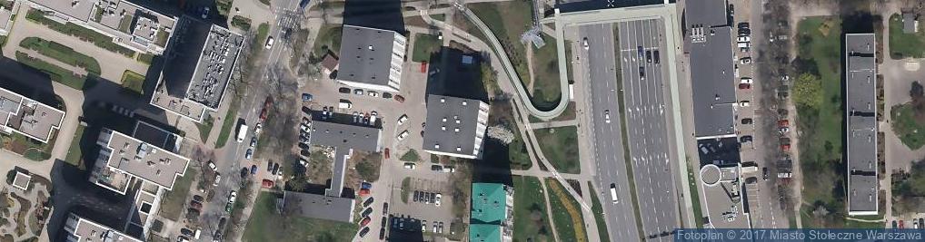 Zdjęcie satelitarne Firma Handlowa Art Woj