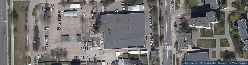 Zdjęcie satelitarne Firma Handlowa Kropka Rozwadowska Beata Stępień Barbara