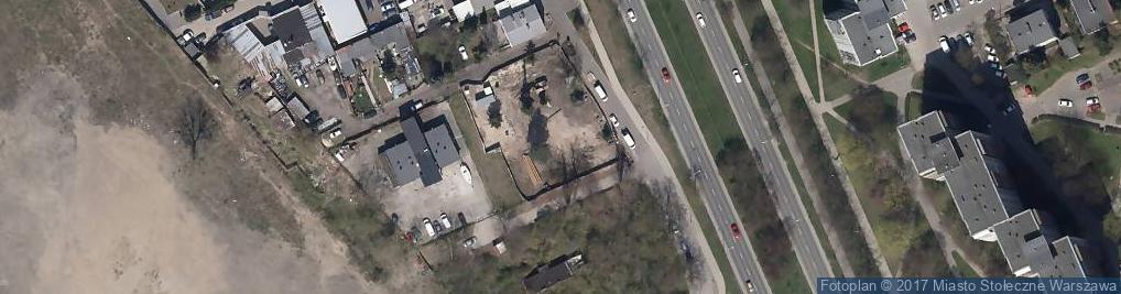 Zdjęcie satelitarne Firma Produkcyjno Handlowo Usługowa Technotex Piętka Mirosław i S Ka