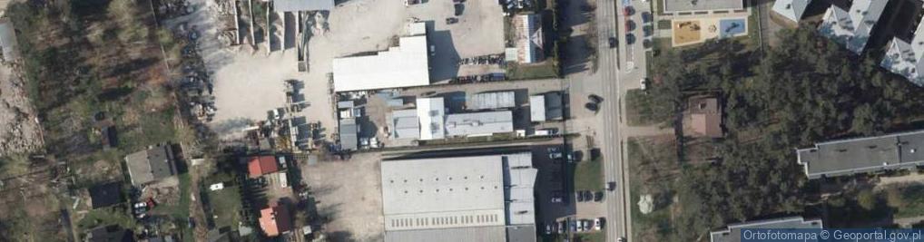 Zdjęcie satelitarne Firma Produkcyjno Usługowo Handlowa El Moto