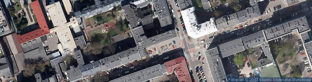 Zdjęcie satelitarne Firma Usługowa Midis
