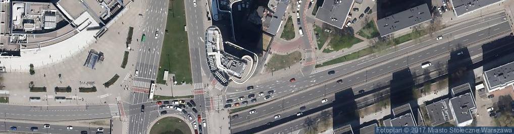 Zdjęcie satelitarne Fundacja Centrum Stosunków Międzynarodowych