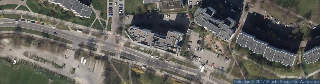 Zdjęcie satelitarne Fundacja Corda Cordi