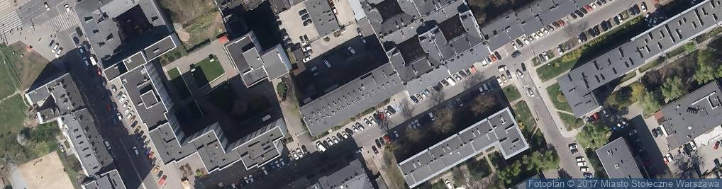 Zdjęcie satelitarne Fundacja Kultury i Sztuki Artholding