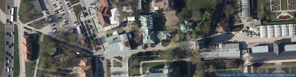 Zdjęcie satelitarne Fundacja Polonia