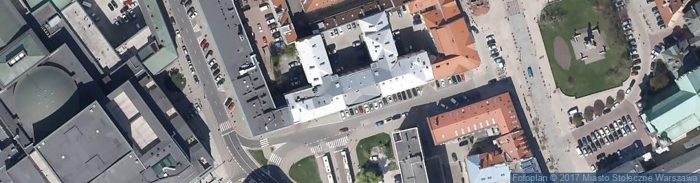 Zdjęcie satelitarne Fundacja Pro Memoria