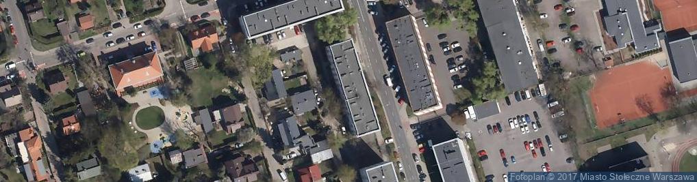 Zdjęcie satelitarne Fundacja Rozwoju