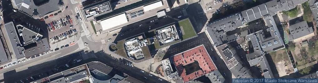 Zdjęcie satelitarne Fundacja Wwa