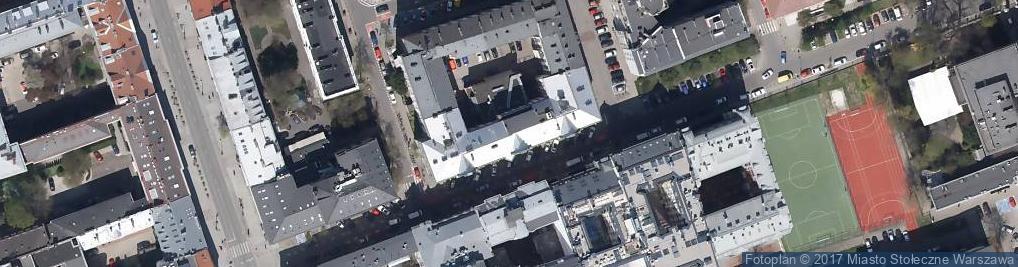 Zdjęcie satelitarne Fundacja Zeszytów Literackich