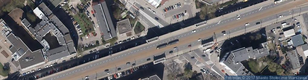Zdjęcie satelitarne Fundusz Pamięci Ofiar Katastrofy w MTK