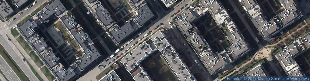 Zdjęcie satelitarne Gabriela Paszkowska Projektowanie Wnętrz
