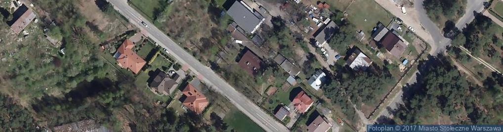 Zdjęcie satelitarne Galeria Stylu