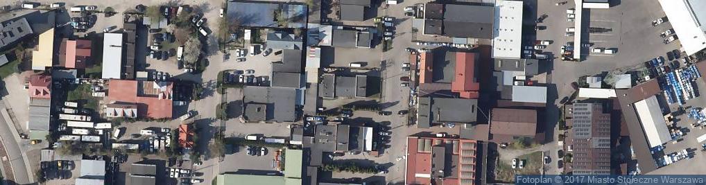 Zdjęcie satelitarne Galwanizatorstwo