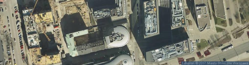 Zdjęcie satelitarne Gerling Polska Towarzystwo Ubezpieczeń na Życie S.A.
