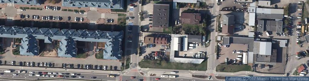 Zdjęcie satelitarne Gold Cars Service Alina Suchołbiak