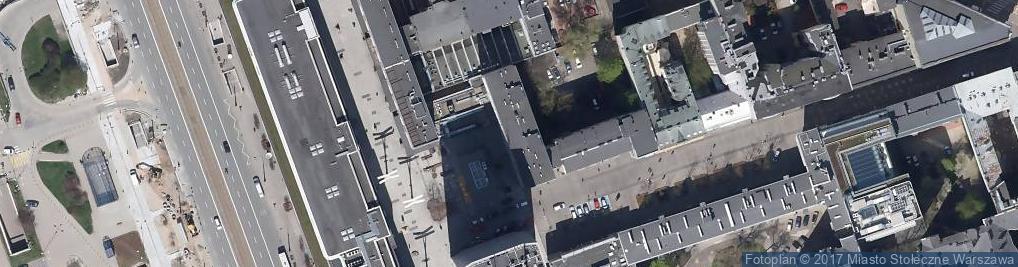 Zdjęcie satelitarne Graffiti Chmielna