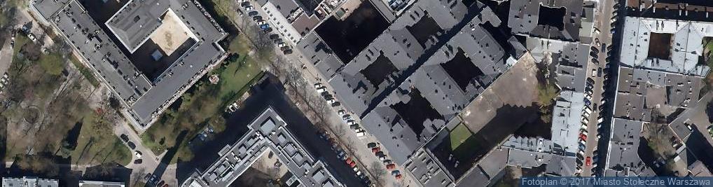 Zdjęcie satelitarne Gromek Studio Krzysztof Gromek