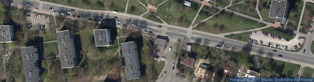 Zdjęcie satelitarne Gronko