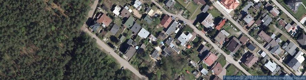 Zdjęcie satelitarne Haft Land Głusik Hanna Bąk Barbara