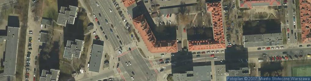 Zdjęcie satelitarne Hand Art Spoż Przem