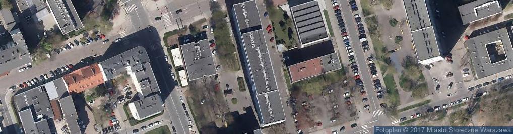 Zdjęcie satelitarne Handel Art Poch Kraj i Zagr Pławski B