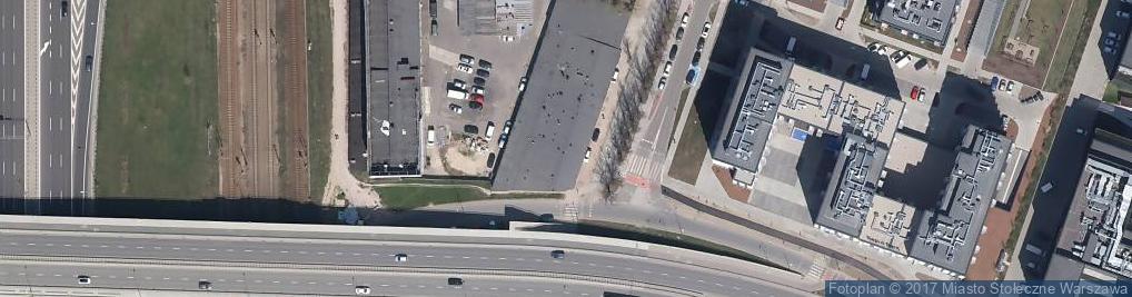 Zdjęcie satelitarne Handel Art Spoż i Wędlinami