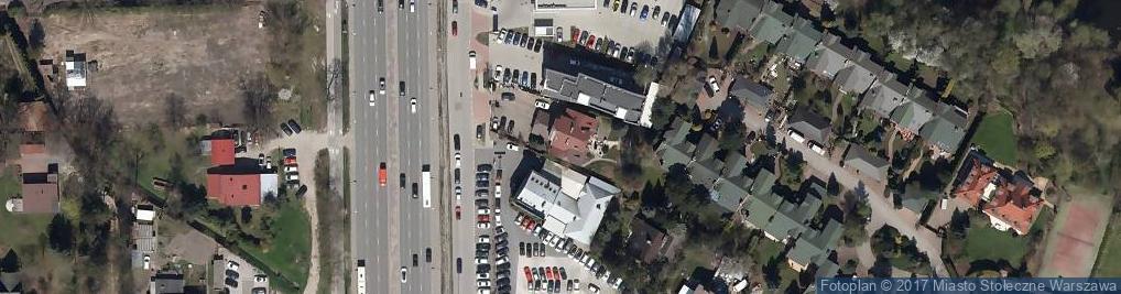 Zdjęcie satelitarne Handel Okrężny Art Przemysłowymi Marcin Filipowicz