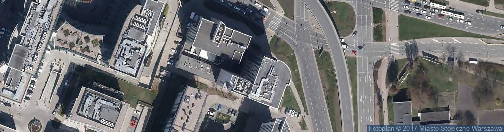 Zdjęcie satelitarne Havas PR Warsaw