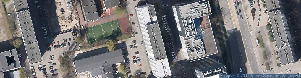 Zdjęcie satelitarne Hes Ewa Sawiak Wolska