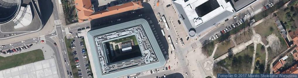 Zdjęcie satelitarne Hostele Centrum Plus