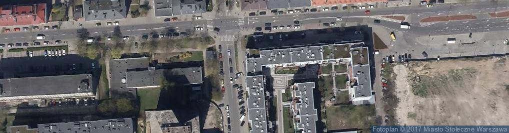 Zdjęcie satelitarne Indywidualna Praktyka Lekarska Adam Dobrzyński