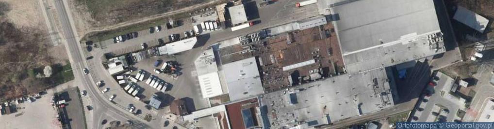 Zdjęcie satelitarne Inter Europol Piekarnia Szwajcarska S.A.