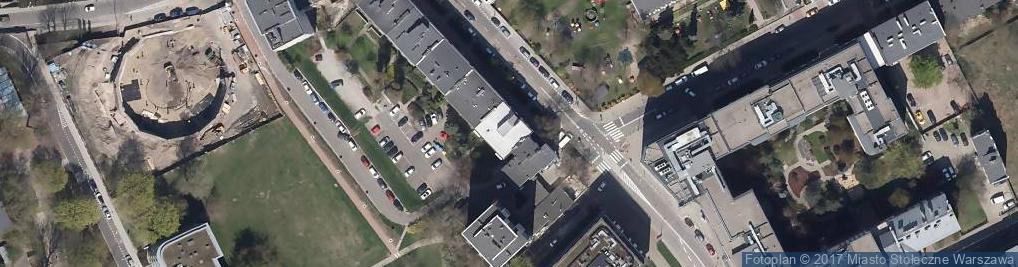 Zdjęcie satelitarne IV Er Kontex Vatrogasne Cijevi D O O Oddział w Warszawie