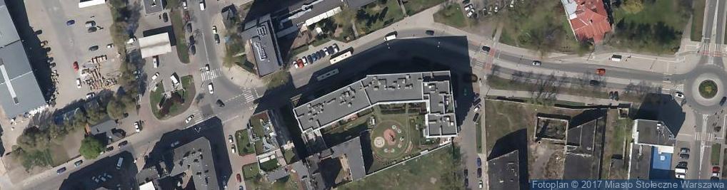 Zdjęcie satelitarne Iwona Kapłan Usługi Pielęgniarskie Kapy Motors