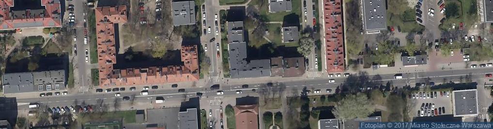Zdjęcie satelitarne Iwona Szczepańska Gekon Zarządzanie Usługi Porządkowe Pielęgnacja Zielni