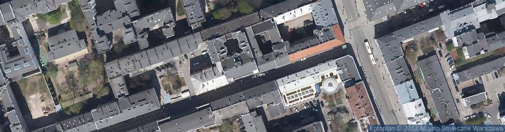 Zdjęcie satelitarne Izba Rzeczoznawców Stowarzyszenia Elektryków Polskich