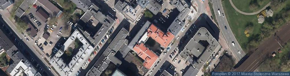 Zdjęcie satelitarne Jacek Pytasz Pracownia Protetyczna Jacek Pytasz