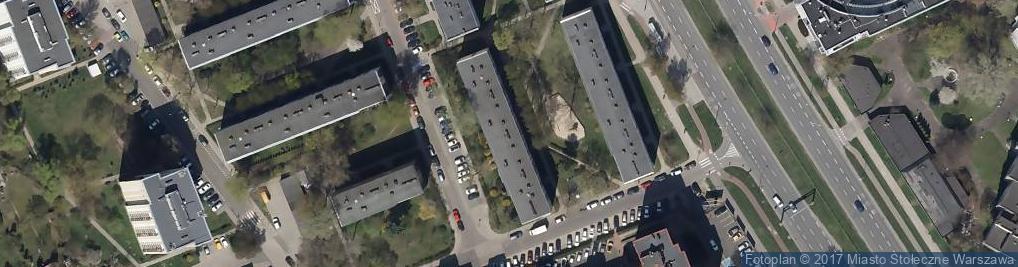 Zdjęcie satelitarne Janusz Zieliński - Działalność Gospodarcza