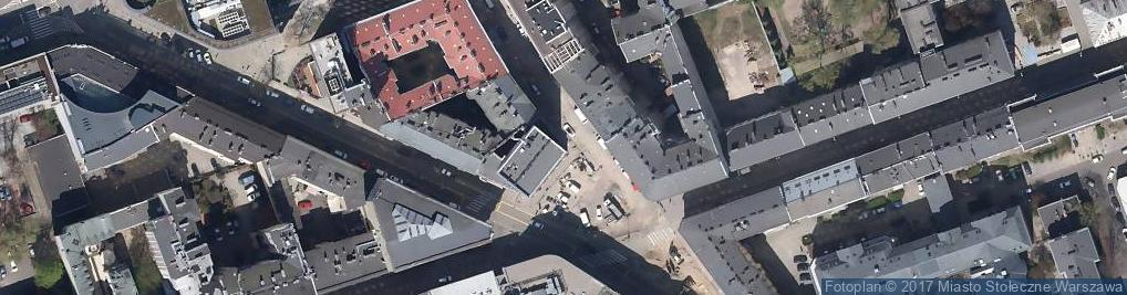 Zdjęcie satelitarne Jeol Europe Japońskie Biuro Techniczne