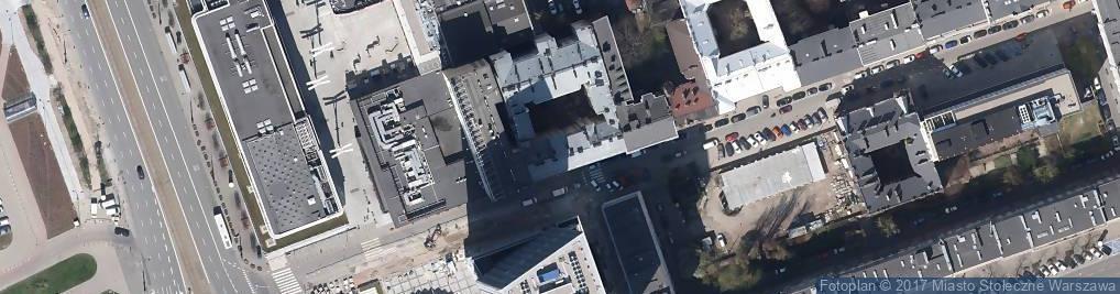 Zdjęcie satelitarne Justyna Gardzińska - Działalność Gospodarcza