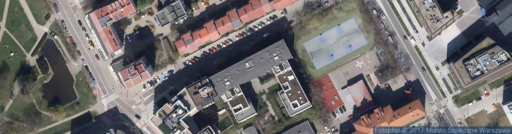 Zdjęcie satelitarne Kancelaria Adwokacka Anna Pompe Ciszewska