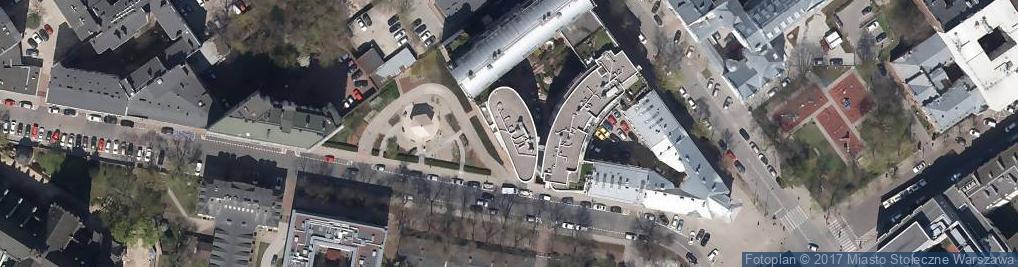 Zdjęcie satelitarne Kancelaria Biegłych Rewidentów Rewidpol