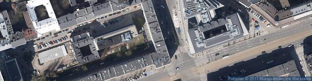 Zdjęcie satelitarne Kancelaria Prawnicza Branicka Warska