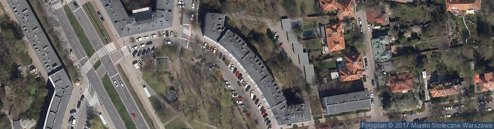 Zdjęcie satelitarne Kaniewski Studio Felikan