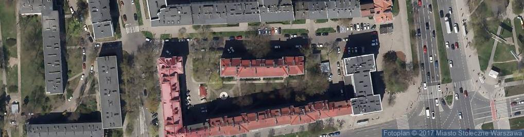 Zdjęcie satelitarne Kiosk Warzywa Owoce