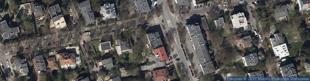 Zdjęcie satelitarne Klara Zawada Usługi Wydawnicze