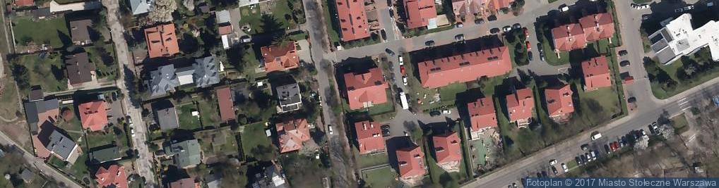 Zdjęcie satelitarne Komatsu America International Company Przedstawicielstwo w Polsce
